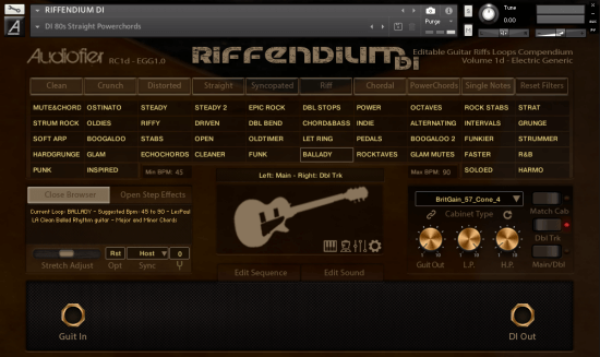 Audiofier - Riffendium vol  1 (KONTAKT)