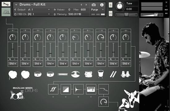 Muletone Audio - Brazilian Series Drums v1 1 (KONTAKT)